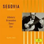 Andres Segovia. Milan, Seis Pavanas; Aguado, Eight Lessons; Sor, Minuets and Etudes etc.