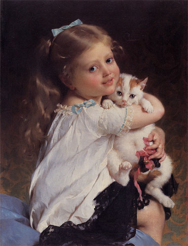 Emile Munier Her best friend. 1882