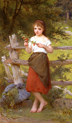 Emile Munier Contemplation. 1890