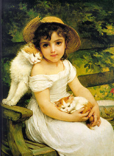 Emile Munier Best friends. 1892